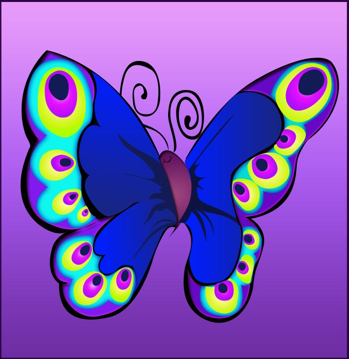 Cartoon Butterflies Pictures