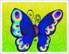 Cartoon Butterfly by Ellie of Inspiring Art