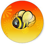 Cartoon Busy Bee by Ellie