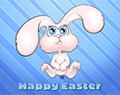 Cartoon Easter Bunny by Ellie of Inspiring Art